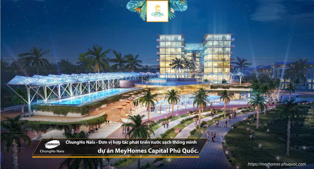 ChungHo Nais - Đơn vị hợp tác phát triển nước sạch thông minh dự án MeyHomes Capital Phú Quốc