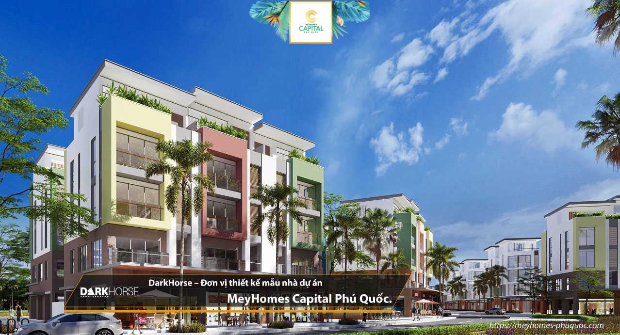 DarkHorse – Đơn vị thiết kế mẫu nhà dự án MeyHomes Capital Phú Quốc