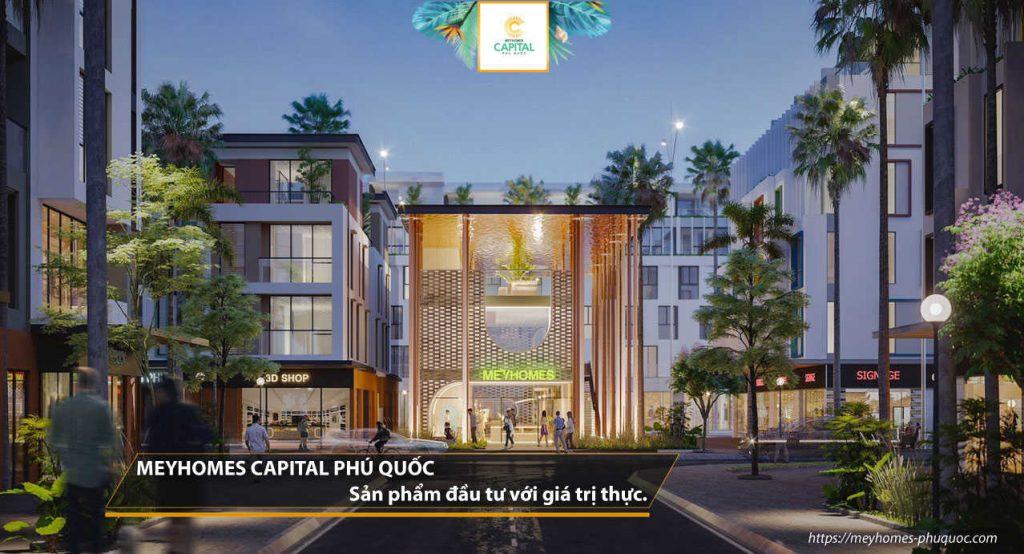 MeyHomes Capital Phú Quốc – sản phẩm đầu tư với giá trị thực