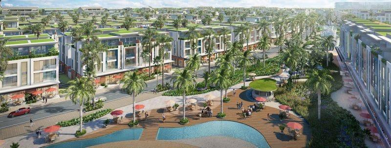Vị trí Meyhomes Capital Phú Quốc sở hữu vị trí đắc địa khi ở trung tâm thị trấn An Thới