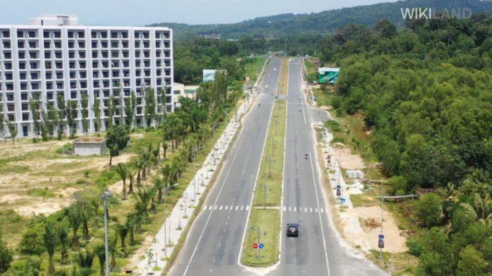 Đường ĐT 975 - Con đường cao tốc kết nối Dương Đông - An Thới